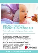 2017 Infant Feeding Essentials Program