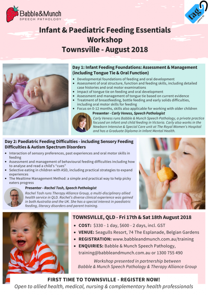 Townsville Workshop Flyer